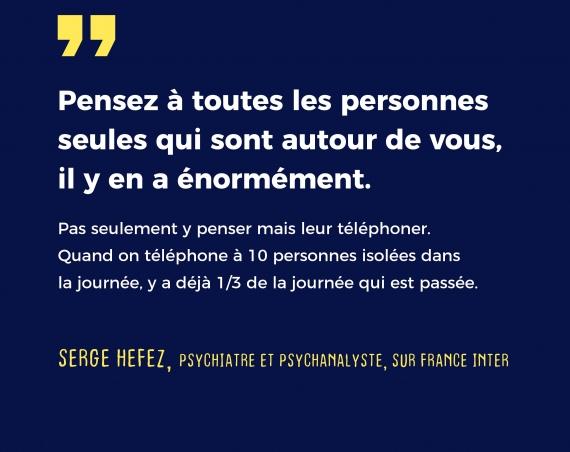 Serge Hefez - Coronavirus confinement