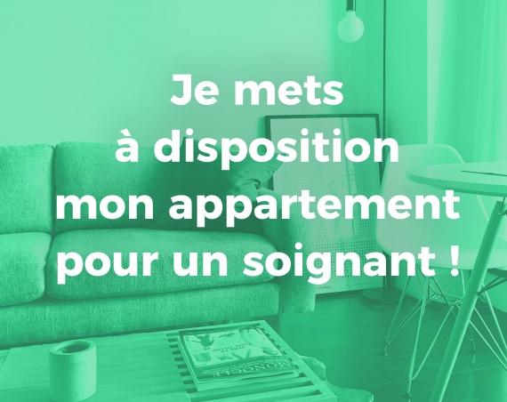 appartement pour soignants COVID-19