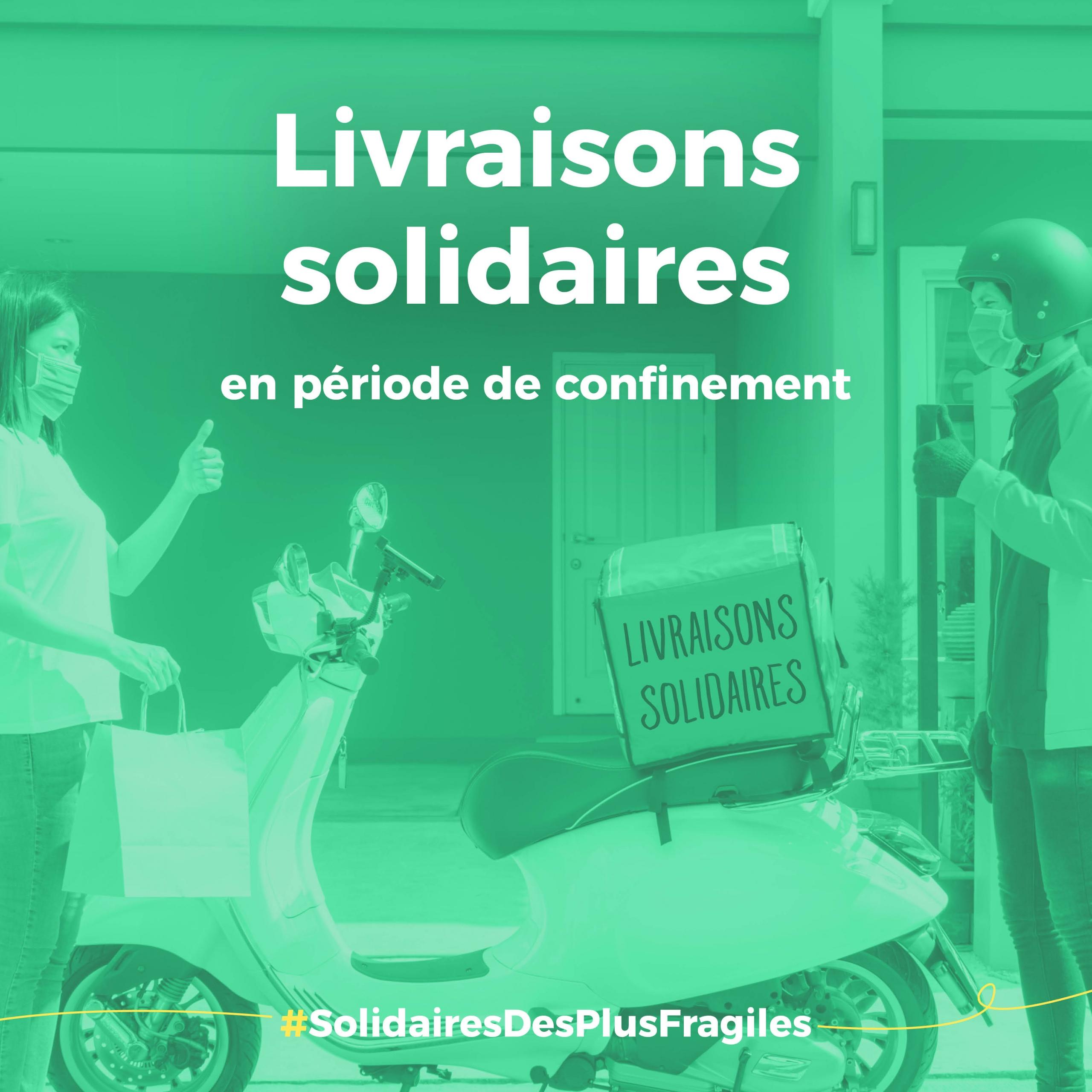 livraison solidaire confinement